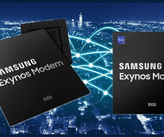 سامسونج تعلن عن أول مودم بتقنية 5G للهواتف الذكيه Exynos 5100