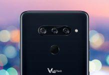 الإعلان عن هاتف LG V40 ThinQ بكاميرا ثلاثيه