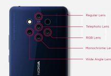 هاتف HMD القادم ربنا يسمي Nokia 9 PureView